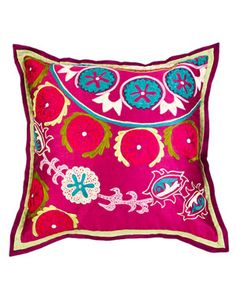 Design1800 'Suzani' Decorative Pillow