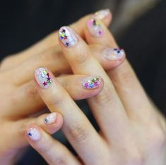 Perfect Festive Manicures Nail Art inspired
