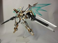 "Custom Build: 1/144 Reborns Gundam ""Lancelot"" - Gundam Kits Collection News and Reviews"