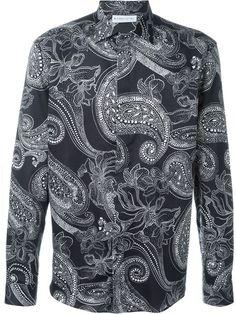 ETRO Floral Paisley Print Shirt. #etro #cloth #shirt