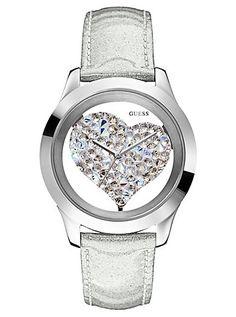 Crystal heart watch<3<3<3