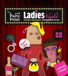 Ladies Night Party Printables by myPartyPrint, $6.00