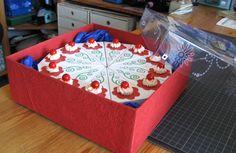 Hier noch eine Verpackung für die Torte