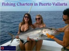 Fishing Charters in Puerto Vallarta Types Of Fish, Fishing Charters, Fishing Girls, Puerto Vallarta, Fort Lauderdale, Vacation Spots, Mexico, Life, Gallery