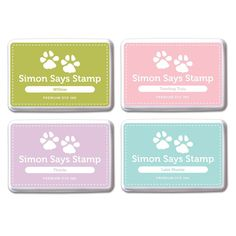 Simon Says Stamp Premium Dye Ink Pad Set DEBBY'S PICKS #2 SetDP214 Splash of Color