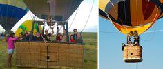 El equipo de tierra en los vuelos en globo aerostatico