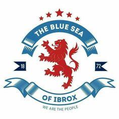Rangers Rangers Football, Rangers Fc, Football Team, British Football, Glasgow, Sports, Badges, Apple Watch, Flags