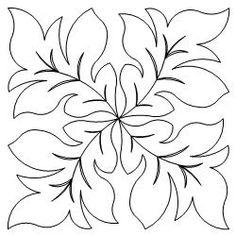 Embroidery Machine Monogram Stitches 69 New Ideas Quilting Stencils, Quilting Templates, Longarm Quilting, Free Motion Quilting, Machine Quilting, Quilting Designs, Applique Patterns, Applique Quilts, Applique Designs