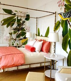 115 best coral or salmon interiors images on pinterest house