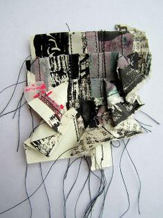 stitch therapy: paper, paint, stitch: