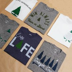 """Bridge & Burn Spring Tees // """"I want these. I want these. I want them all."""" -the words that just came out of my mouth"""