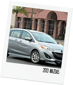 """2013 Mazda5  """"Repin"""" if this is your pick! #topcars"""