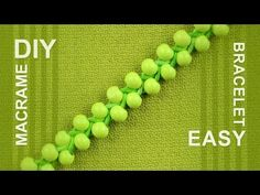 ▶ Super Easy, Fast and Cool Beaded Friendship Bracelet - YouTube