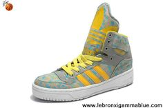 Discount Girl's Adidas X Jeremy Scott Big Tongue Shoes Orange Latest Now