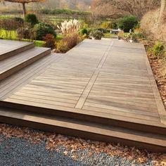 Outdoor Spaces, Outdoor Living, Outdoor Decor, Garden Inspiration, Outdoor Gardens, New Homes, Deck, Exterior, Patio