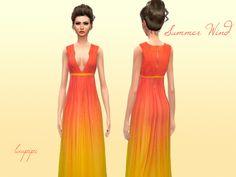 #Sims4 | laupipi's Summer Wind - Dress Set