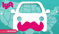 Lyft is a ridesharing app that allows you to request a ride 24 hours a day/ 7 days a week. This unique service allows you to find the nearest Lyft driver to pick you up saving you time and money with their discounted fares. Uber, Alphabet, Sharing Economy, Consumer Behaviour, Be Your Own Boss, Space Travel, Coupon Codes, Behavior, Coupons