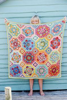 Stylecraft Eastern Jewels Blanket