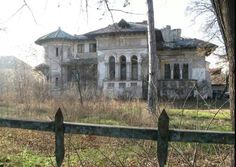 Abandoned derelict house, Romania