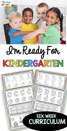 Kindergarten Freebies, Kindergarten Art Projects, Kindergarten Curriculum, Preschool Lessons, Math Lessons, Inclusion Classroom, Teaching Kids, Teaching Tools, Teacher Resources