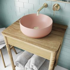 Such a perfect sink! Countertop Basin, Countertops, Round Sink, Wall Mounted Basins, Downstairs Toilet, Downstairs Cloakroom, Contemporary Bathroom Designs, Bowl Sink, Vessel Sink