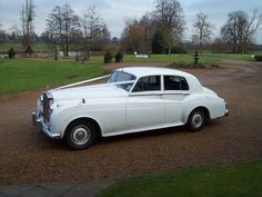 how i roll:  vintage ROLLS ROYCE SILVER CLOUD
