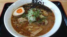 味噌ラーメン(手揉み太麺)@由利本荘市、麺屋鼓志
