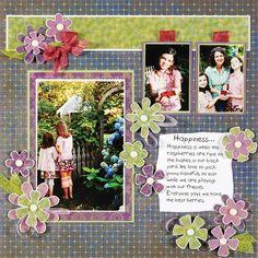 scrapbook layouts, scrapbook | http://my-scrapbook-photos.blogspot.com
