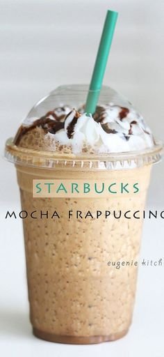 To Make Starbucks Mocha Frappuccino at Home [Copycat Forget about heading to Starbucks for coffee fix and make your own mocha Frappuccino at home!Forget about heading to Starbucks for coffee fix and make your own mocha Frappuccino at home! Café Starbucks, Mocha Frappe Recipe, Starbucks Frappuccino Recipe Mocha, Starbucks Cold Coffee Drinks, Homemade Frappuccino, Homemade Starbucks Recipes, Cafe Moka, Iced Coffee, Drink Recipes