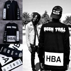 HBA Tide Brand Men T-shirt Hip Hop Palace Fashion  Price: $25 Buy From AliExpress:https://goo.gl/PcB4Yu