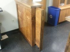 Beau Here Is A Pocket Door That I Installed For The Service Counter At Work.