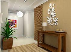 Decor Salteado - Blog de Decoração | Construção | Arquitetura | Paisagismo: Hall de Entrada – veja 40 entradas triunfais e dicas de como decorar!