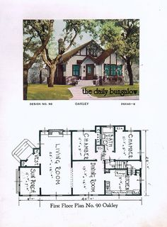 1920 Building Service House Plans on Flickr. The Oakley