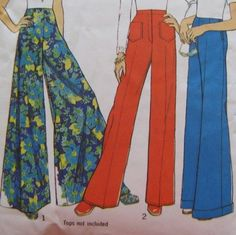 Holy cow. Look at those bell bottoms. I wore them extra long so ...