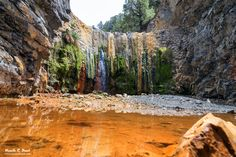 Cascada de colores - La Palma