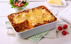 Denne lasagnen er et sunnere alternativ, smaker nydelig og er en lasagne helt uten kjøtt. Vi har brukt proteinrik cottage cheese og gode grønnsaker i en veldig god saus.