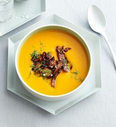 Limetten-Süßkartoffel-Suppe - [ESSEN UND TRINKEN]