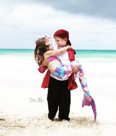 a8ff6c9d1cb Big Brother Pirate Caught a Mermaid Evie Allyn Photography