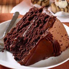 Chocolate cake  Via: love_food Tag someone who deserves some cake!  by ig.foodie - Pinned by Mak Khalaf