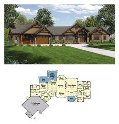 8 Cliff May inspired ranch house plans from Houseplanscom Ranch