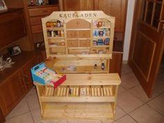 Ein #Traum für jedes #Kind - #Opa hat den #Kaufladen #selbstgebaut