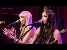 The Pierces - You'll Be Mine - David Letterman  6-18-12