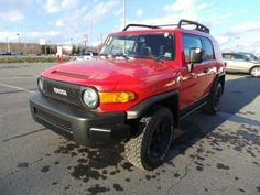 Toyota FJ Cruiser in (TTE) Radiant Red (3L5) from 2012-2012 #8