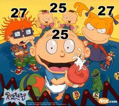 ok 80s babies... seriously... Buzzfeed 36 things that will make you feel ancient... starting with.... this is how old the Rugrats would be if they aged normally.