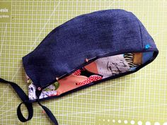 How to Make a Unisex Surgical Cap - Free Pattern Included — Sirena Patterns Scrub Hat Patterns, Hat Patterns To Sew, Sewing Patterns Free, Sewing Tutorials, Free Pattern, Surgical Caps, Scrub Hats, Love Sewing, Learn To Sew
