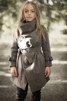 girl's coat, love the collar