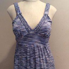 """MAXI DRESSNWOT Shades of Blue, Soft & ComfortableMeasures from under arm to floor 50"""" SPENSE Other"""