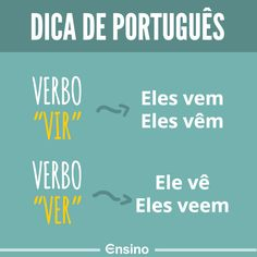 If you are planning to work in Portugal or any of the other countries where Portuguese is spoken then it can only be to your advantage to learn as much of the language as possible. Portuguese Grammar, Portuguese Lessons, Portuguese Language, Learn Brazilian Portuguese, Grammar Tips, Study Organization, English Tips, Canal E, Student Life