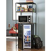 In Room Microwave Refrigerator Cabinet Combo