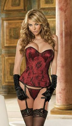 I found 'Lace Over Lay Satin Corset' on www.jevellingerie.com, check it out!